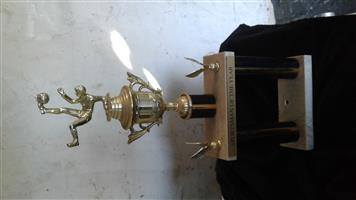 Sports man of the year award trophy