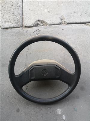 VW Golf mk1 steering wheel (original) R350