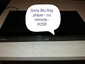 Sony blu ray DVD player.