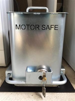 Motor Safe  - Heavy Duty Anti theft Cage / Bracket for D5 / EVO & D10 gate motors