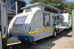Sprite splash 4berth pop up roof caravan