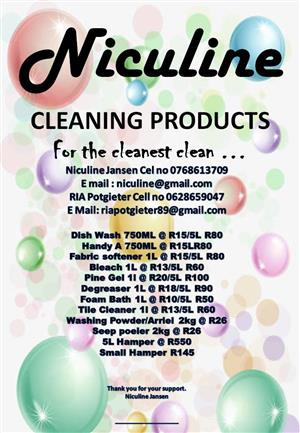 Niculine Cleaning Products