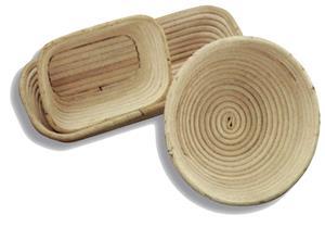 Proofing Banneton Brotform Rattan Baskets Bread Dough