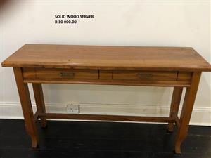 Solid Wood Server