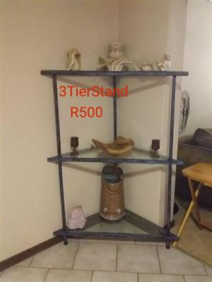 3 Tier corner stand for sale