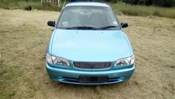 2001 Toyota Corolla 1.3 Advanced