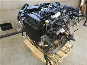 2018 MERCEDES BENZ OM642 350CDI FULL ENGINE