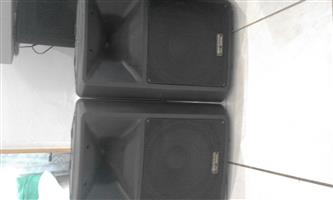 Quality Amps and Speakers for sale