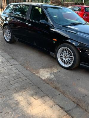 2001 Alfa Romeo 156 2.5 V6 Sportwagon