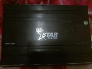 Starsound Digital SSA-KO-2300 2300w 4CH Amplifier