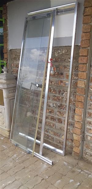 2nd 85 m by 85 m Complete corner shower door cheap!!