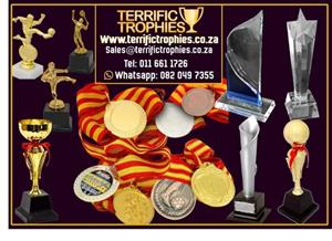 Metal Sports Medals with ribbon 34mm