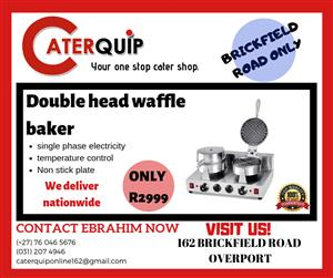 Waffle and waffle cone bakers for sale