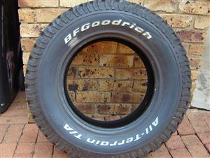 B F Goodrich tyre - brand new