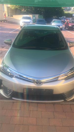 2017 Toyota Corolla 1.8 Exclusive automatic
