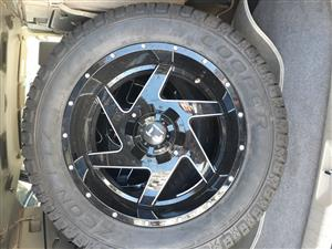 20 Inch FT 4x4 Bakkie/Jeep Deep Dish mags