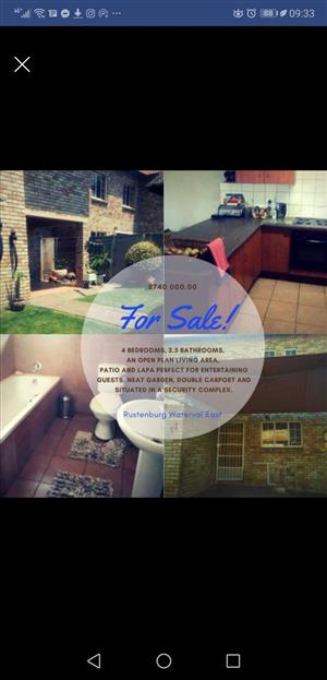 Spacious townhouse for sale