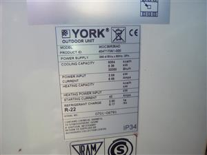air conditioning units, 32000 btu, 3 phase,