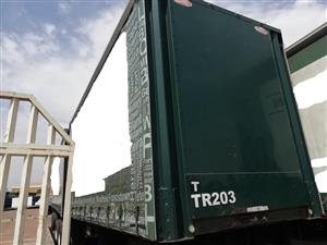 Used 2016 SA Truck Bodies Superlink Tautliner Trailer for sale