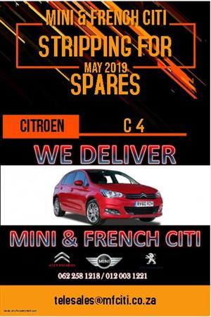 Citroen c4 Stripping for spares.