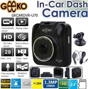 Geeko In-Car Dash Cam DVR Standard