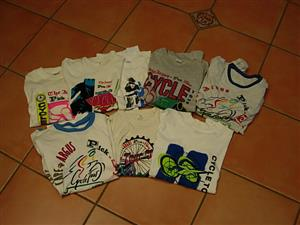 Cycling Memorabilia - T Shirts from the 90's
