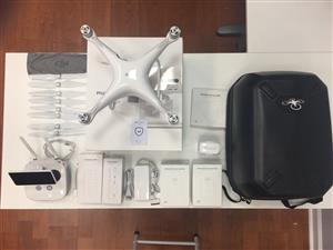 Fairly used DJI phantom 4 professional plus 3 hours flying time