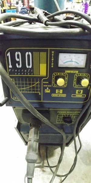 Uni Mig 190 Pro series Mig Welder