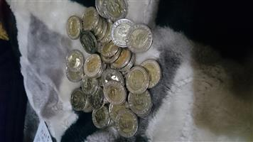 R5 Mandela Coins 2008 & 2018