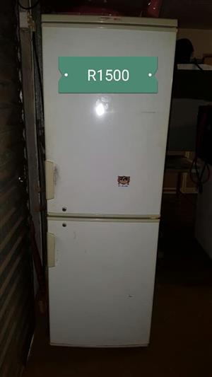 Old fridge with freezer for sale