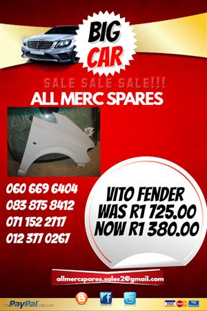 MERCEDES BENZ VITO FENDER FOR SALE