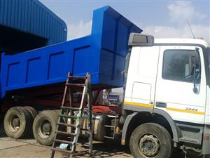 TIPPER BINS MANUFACTURES AT NEHS AND HYDRAULICS SYSTEM INSTALLATIONS FOR INCREDIBLE PRICES, CALL US NOW! 0766109796