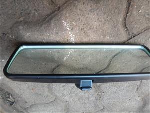 2018 Polo Vivo rear view mirror