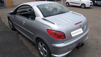 2004 Peugeot 206 CC 1.6