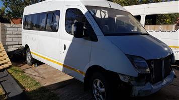 2014 Maxus V80 2.5TD taxi