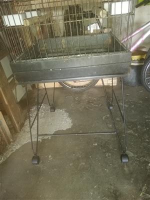 African Grey bird cage