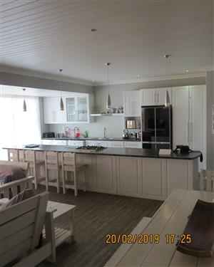 Perfect, beautiful and spacious house in Langebaan, overlooking the Mashie Golf Course for sale.