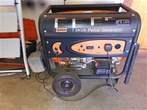GRIP 7.5kva Petrol Generator
