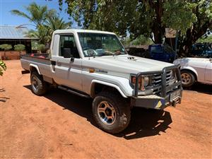 2002 Toyota Land Cruiser 79 single cab LAND CRUISER 79 4.0P P/U S/C