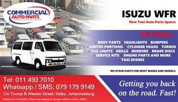 Isuzu WFR Parts and Spares For Sale.