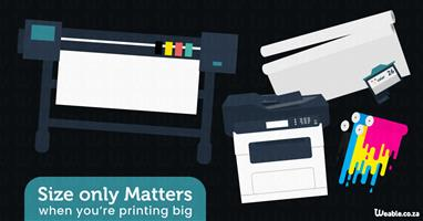 Size only Matters When Printing Big