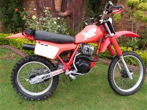 1983 Honda XR