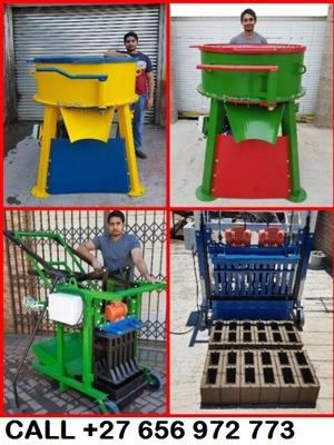 Manufacturers of Brick and Block Making Machines and Pan Mixers For Sale