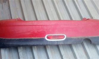 Mini Cooper Rear Bumper