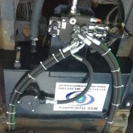complete hydraulic system installation