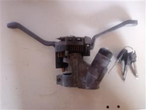 Golf 1 ignition barrel + slip ring + keys