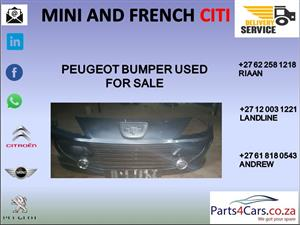 peugeot bumper for sale