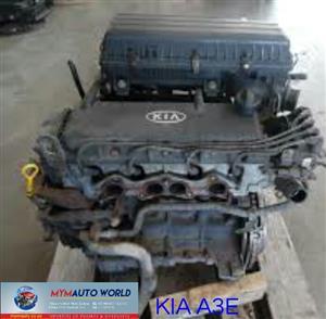 Imported used KIA RIO 1.3L SOHC, A3E engine Complete