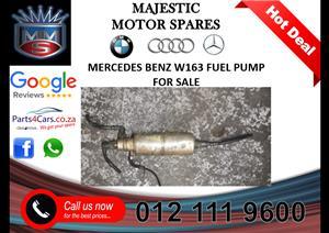 Mercedes benz W163 fuel pump for sale
