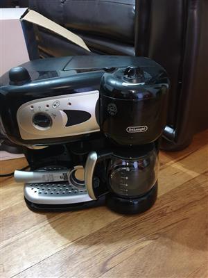 Delonghi combo espresso and coffee maker